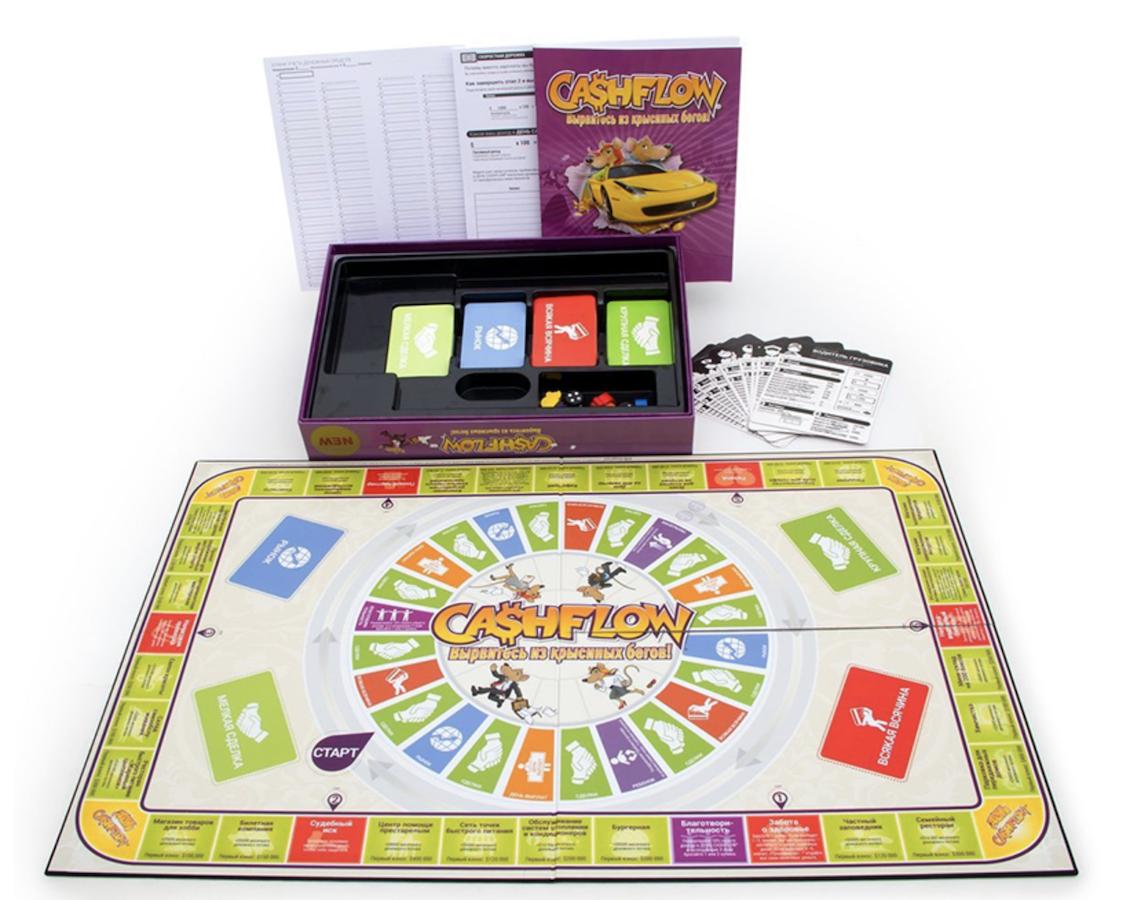 Cashflow board game for sale